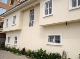 2 units of 3 bedroom Town house directly on Oniru Market Road