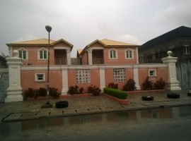 Fully furnished five bedroom detached Duplex