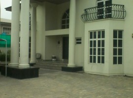 Five Bedroom Fully Detached Duplex with Two Rooms BQ
