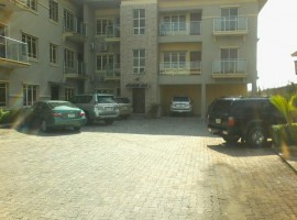 Serviced 3 Bedroom Flat with a Room BQ