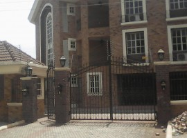 Furnished 4 unit of 3 bedrooms luxury apartment with all necessary amenities and recreational space