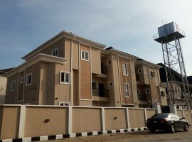 Blocks of 4 units 3 bedroom flat and 2 units of 2 bedroom flat