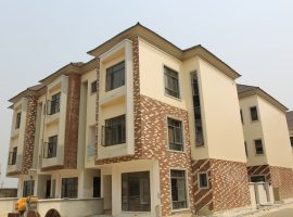 Serviced 4 Bedroom Terrace Duplex