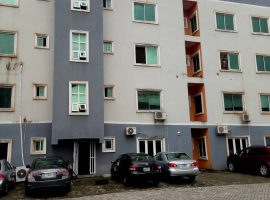 SERVICED THREE (3) BEDROOM FLAT.