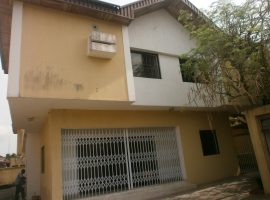 FIVE (5) BEDROOM DUPLEX HOUSE