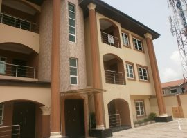SERVICED THREE (3) BEDROOM FLAT