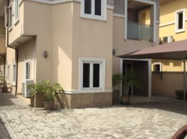 FIVE(5) BEDROOM FULLY DETACHED DUPLEX