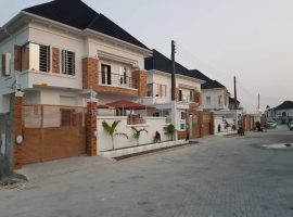 king size Four(4) Bedroom fully detached duplex