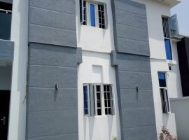 A Four (4) bedroom Contemporary Fully Detached Duplex
