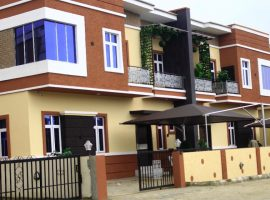 Newly built 4 Bedroom Semi Detached Duplex With Bq.
