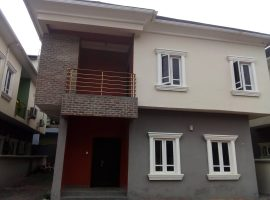 2 units of Four (4) bedroom fully detached duplex