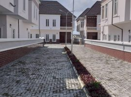 4 Bedroom Semi Detached Duplex with a Room Boys Quarters.