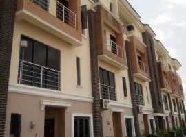 NEWLY BUILT 11UNITS OF 4BEDROOM TERRACE DUPLEX PLUS BQ