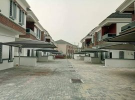 Newly Built 4 Bedroom Semi Detached Duplex with BQ